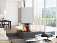 czytaj dalej artykuł: Nowoczesne wkłady kominkowe szwajcarskiej firmy Ruegg