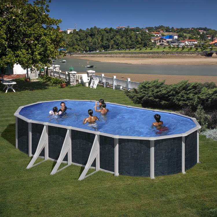 basen w imitacji klepki parkietowej
