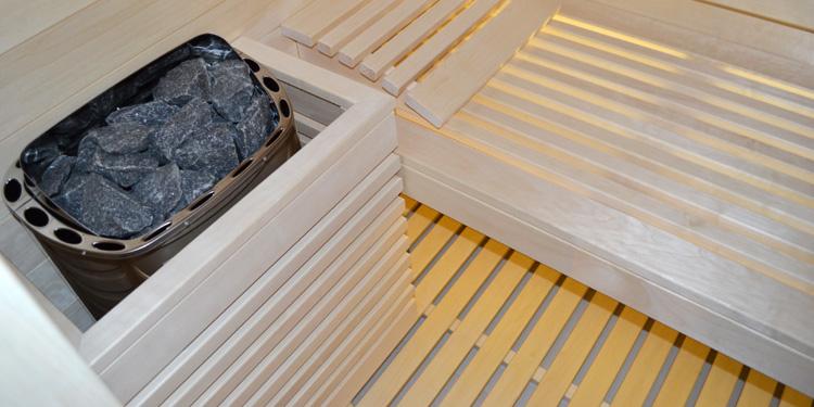 Jednofukcyjny piec do sauny