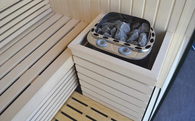 Piec do sauny typu Combi (dwufunkcyjny)