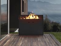 czytaj dalej artykuł: Paleniska ogrodowe Stoger Metallic Design